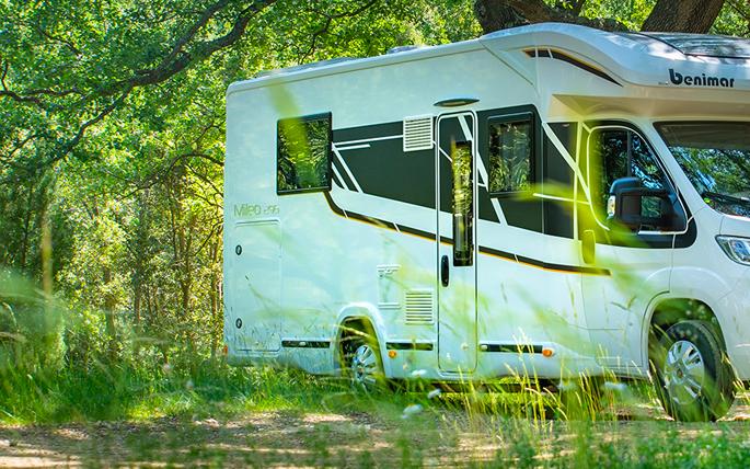 Nieuwe campers